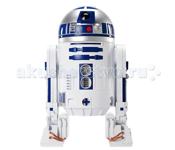 Big Figures Фигура Звездные Войны R2-D2 46 смФигура Звездные Войны R2-D2 46 смBig Figures Фигура Звездные Войны R2-D2 46 см детализированная фигурка, которая представляет нам популярного персонажа вселенной Star Wars.   Высота фигурки достигает 46 сантиметров.  Этот отважный, бесстрашный и даже склонный к некоторой авантюрности робот, не раз выручал своих товарищей из самых непростых ситуаций, порой казавшихся совершенно безнадёжными. Благодаря множеству хитроумных приспособлений, встроенных в корпус дроида, Арту блестяще справлялся с самыми сложными механико-техническими задачами, без труда вступал во взаимодействие с любыми компьютерными устройствами и, похоже, легко находил общий язык даже с людьми, несмотря на то, что его речь – это ряд звуковых переливов, свистов и трелей.  Насыщенные цвета игрушки привлекут внимание ребенка и позволят надолго погрузиться в игру. Игра с фигуркой развивает мелкую моторику рук, фантазию и пространственное мышление. Кроме того, любой фанат Звездных Войн будет в восторге от такой фигурки. Особенно актуально приобрести подобную фигурку в преддверии выхода нового фильма!<br>