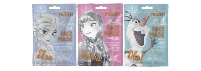 Купить Косметика для мамы, MAD Beauty Маски для лица Disney Frozen 3 шт.