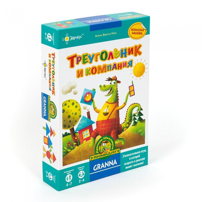 Картинка для Эврикус Игра настольная Треугольник и компания