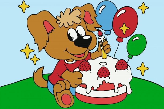 Картины по номерам Color Kit Картина по номерам День рождения