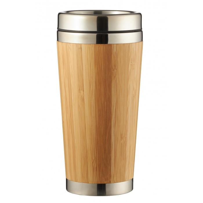 Термосы, Термос Lux-souvenir Термокружка Бамбук 450 мл  - купить со скидкой