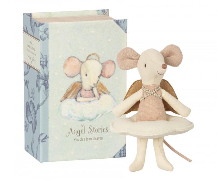 Мягкая игрушка Maileg Мышка старшая сестра Ангел в книге