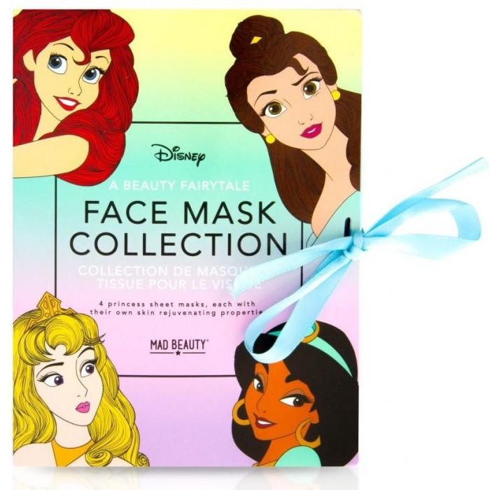 MAD Beauty Дисней Коллекция масок для лица Принцессы 4 шт. от MAD Beauty