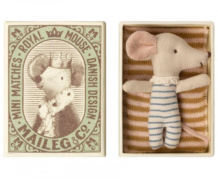 Мягкая игрушка Maileg Новорожденный мышонок Sleepy-Wakey