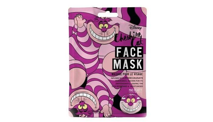 Фото - Косметика для мамы MAD Beauty Маска для лица DisneyAnimal Чеширский кот чеширский кот на тёмно сером фоне