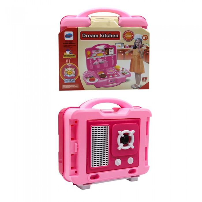 Купить Ролевые игры, Джамбо Тойз Кухня в чемоданчике (29 предметов)