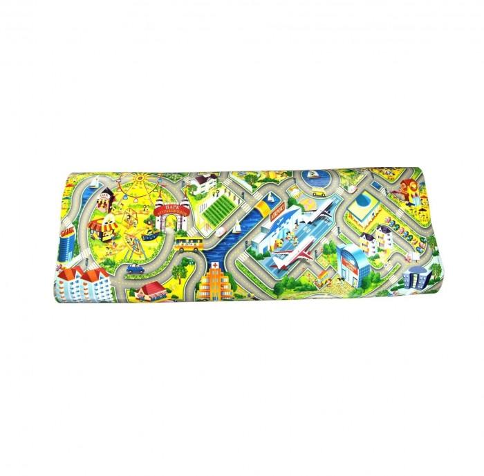 Игровой коврик Юрим рулонный Город 150х100х1 см