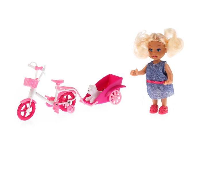 Карапуз Кукла София беременная со стульчиком 29 см