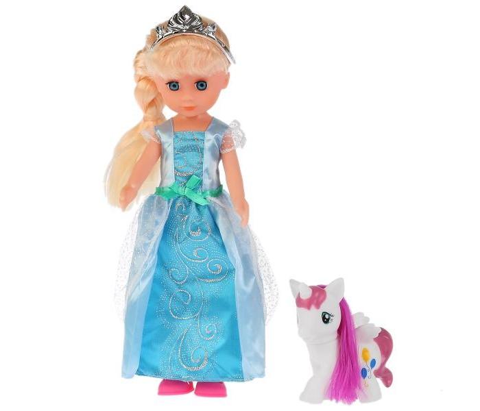 Фото - Куклы и одежда для кукол Карапуз Кукла Принцесса Елена с пони 36 см кукла paola reina елена 21 см 02101