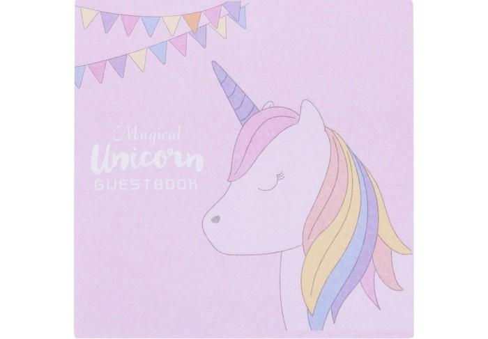 Канцелярия Kawaii Factory Стикеры для записей Rainbow unicorn с гирляндой