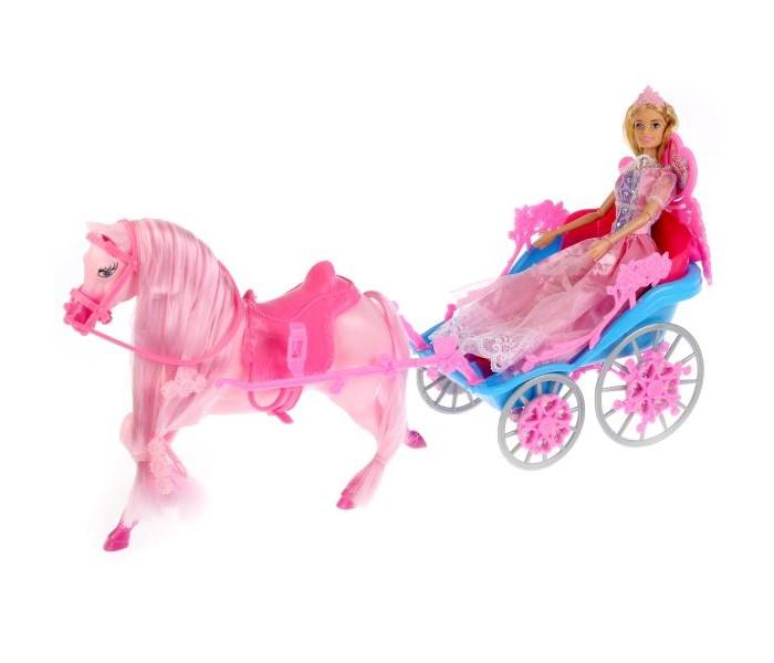 Фото - Куклы и одежда для кукол Карапуз Кукла София принцесса с лошадью и каретой 29 см куклы и одежда для кукол карапуз кукла принцесса софия 46 см 14666pri ru
