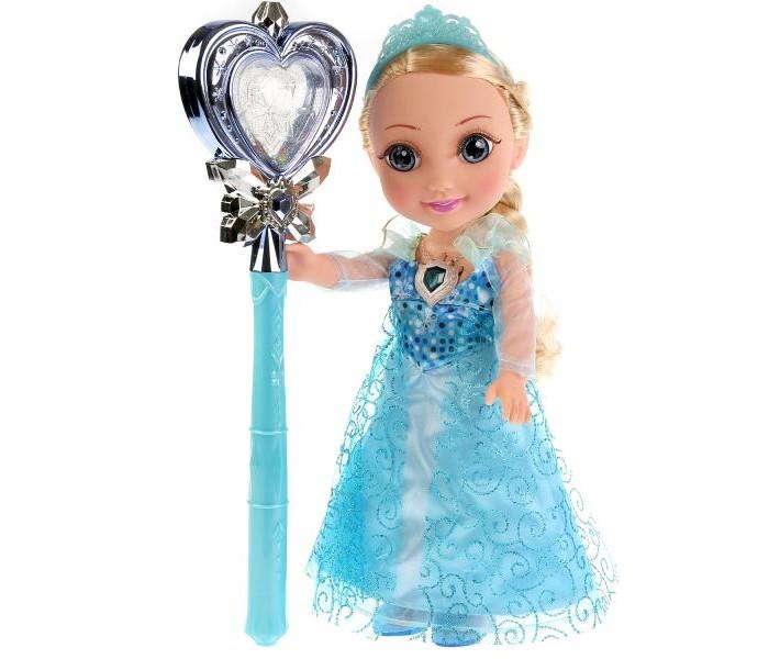 Картинка для Куклы и одежда для кукол Карапуз Кукла Принцесса Амелия с волшебной палочкой 36 см