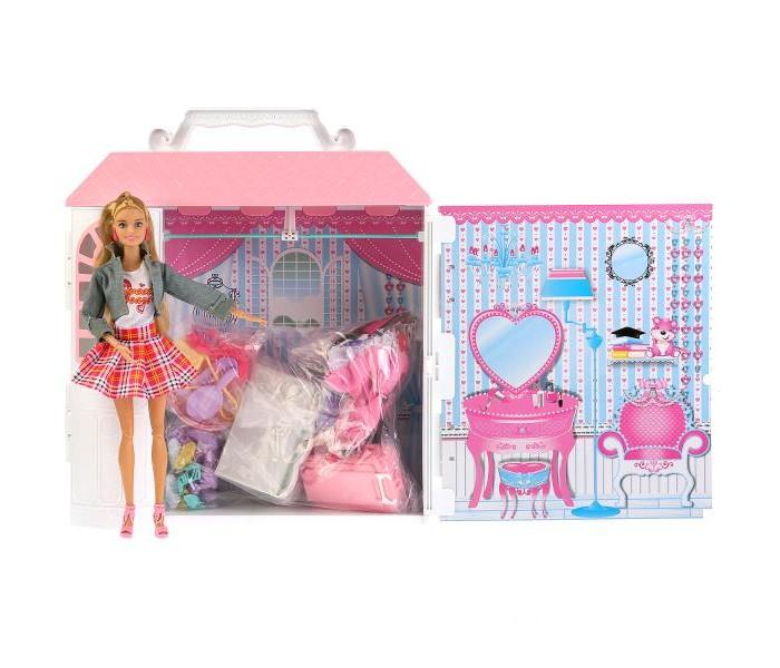 Карапуз Кукла София с гардеробом и одеждой 29 см