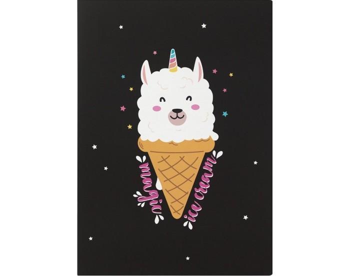 Тетради Kawaii Factory Тетрадь в розовую клетку Magic ice cream А4 (40 листов)