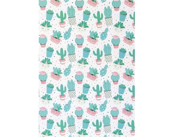 Тетради Kawaii Factory Тетрадь в розовую клетку Кактусы А4 (40 листов)