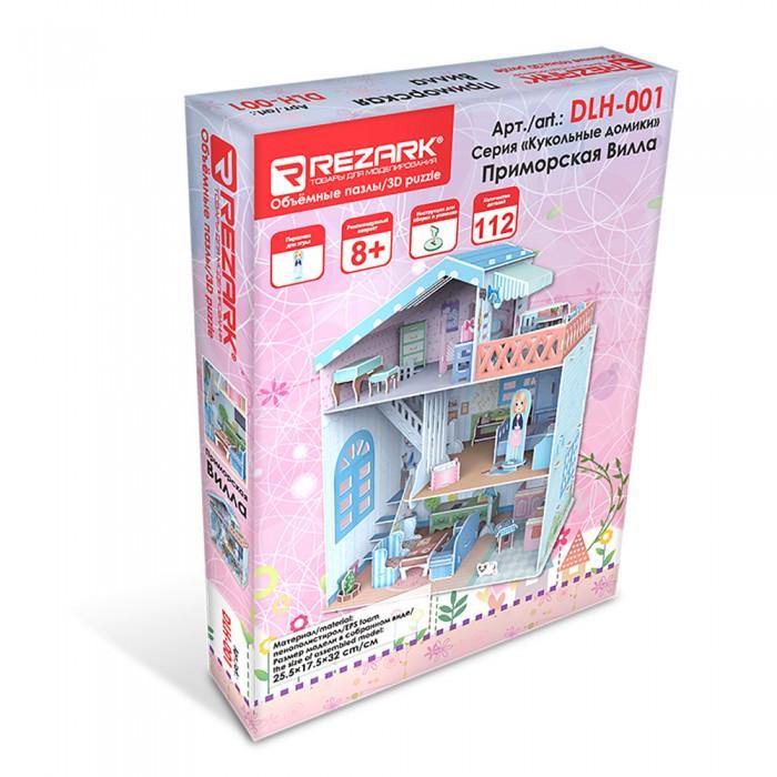 Картинка для Rezark Сборная модель Кукольный домик Приморская вилла