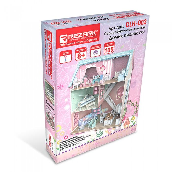 Картинка для Rezark Сборная модель Кукольный Домик пианистки