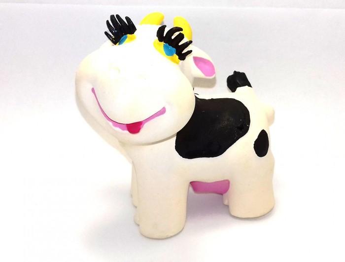 Игрушки для ванны Lanco Латексная игрушка Корова белая 1131 игрушки для ванны lanco латексная игрушка жираф мальчик 1207