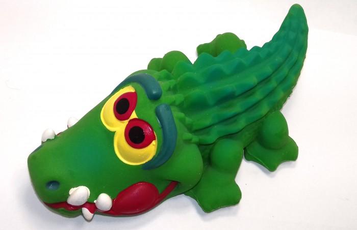 Игрушки для ванны Lanco Латексная игрушка Крокодил большой 1505 игрушки для ванны lanco латексная игрушка жираф мальчик 1207