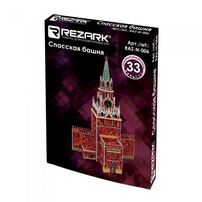 Купить Сборные модели, Rezark Сборная модель Спасская башня 1:440