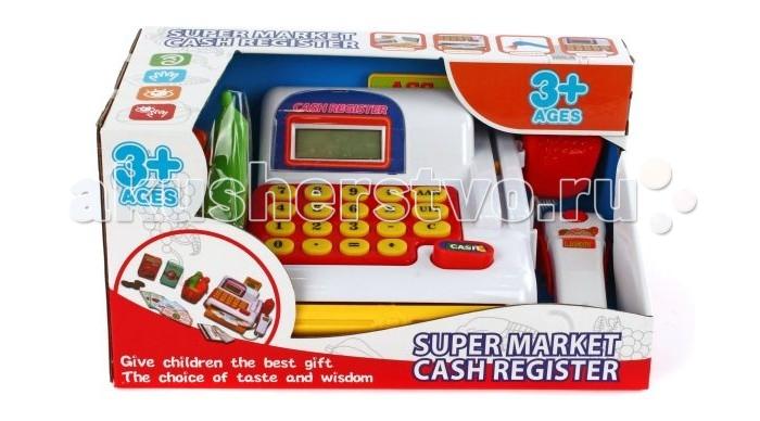 Ролевые игры Shantou Gepai Касса Супермаркет с набором продуктов и сканером игровой набор shantou gepai супермаркет касса тележка набор продуктов 6809