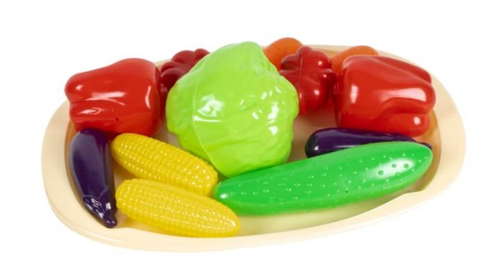 Фото - Ролевые игры Orion Toys Набор Овощной на подносе (12 предметов) ролевые игры гринпласт набор овощи и фрукты 6 шт