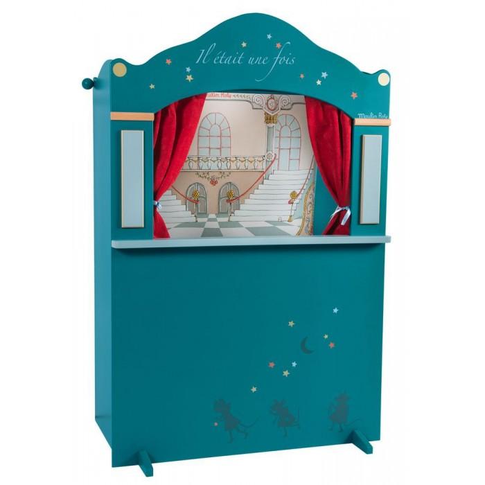 Ролевые игры Moulin Roty Большой кукольный театр развивающие игрушки moulin roty гелевый калейдоскоп птички