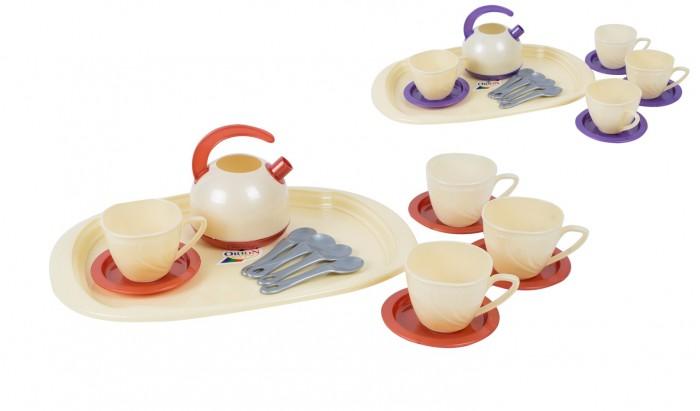 Ролевые игры Orion Toys Набор чайный на подносе (13 предметов) кастрюля на подносе brandani