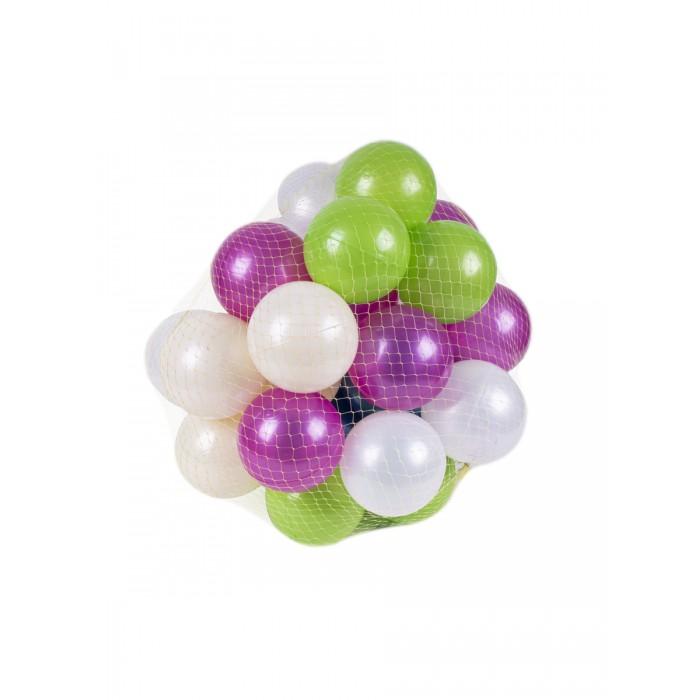 Сухие бассейны Orion Toys Набор шариков для сухого бассейна перламутровые 7 см 32 шт.