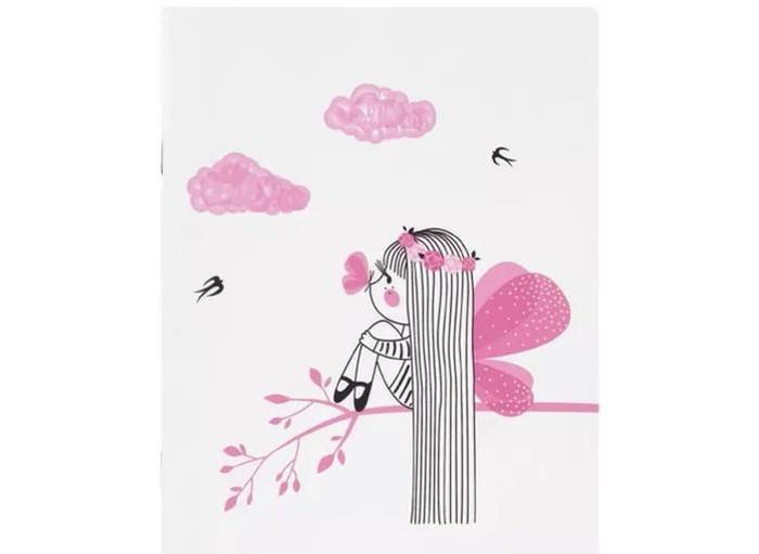 Тетради Kawaii Factory Тетрадь в розовую клетку Фея А5 (48 листов) бриз тетрадь swatch 160 листов в клетку