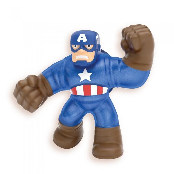 Купить Игровые фигурки, GooJitZu Игрушка тянущаяся фигурка Капитан Америка