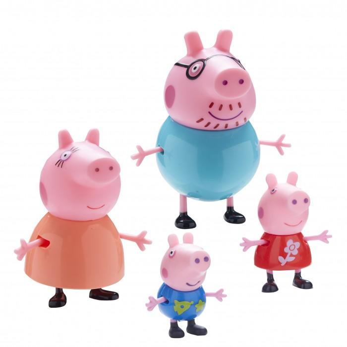 Игровые фигурки Свинка Пеппа (Peppa Pig) Игровой набор Пеппа и ее семья origami пазл семья кроликов магниты подставки 24 maxi детали свинка пеппа