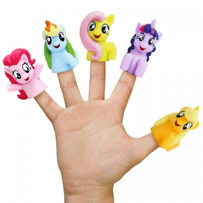 Ролевые игры Май Литл Пони (My Little Pony) Пальчиковый театр 5 фигурок 37900