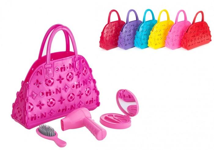 Ролевые игры Orion Toys Набор для девочки Маленький парикмахер в сумочке (3 предмета) пудреница пастушок мстёра