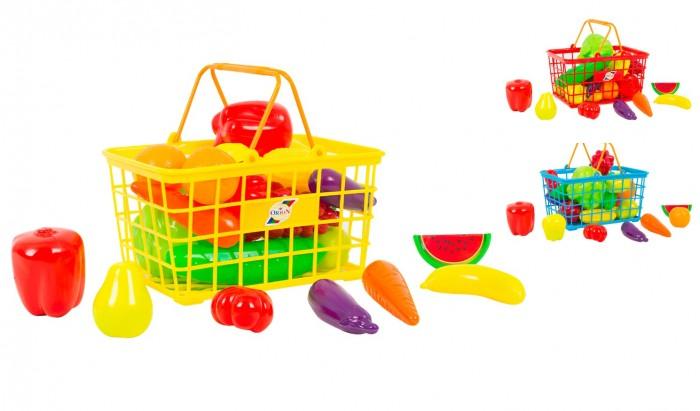 Ролевые игры Orion Toys Набор Корзинка М Урожай (24 предмета) ролевые игры orion toys набор для девочки маленький парикмахер в сумочке 3 предмета