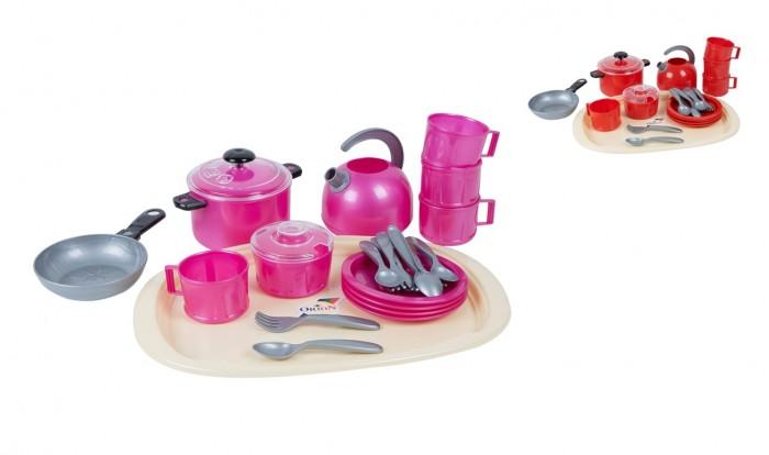 Ролевые игры Orion Toys Набор посуды Iriska 9 (23 предмета) ролевые игры orion toys набор для девочки маленький парикмахер в сумочке 3 предмета