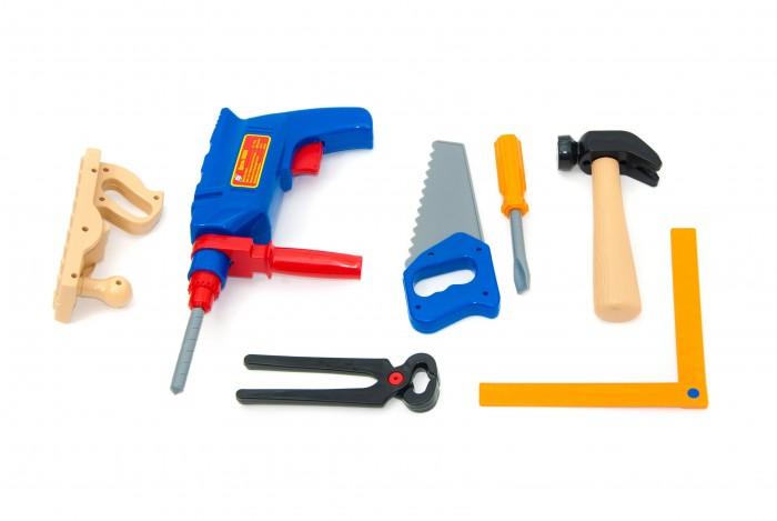 Ролевые игры Orion Toys Набор инструментов Маленький столяр (8 предметов) ролевые игры orion toys набор для девочки маленький парикмахер в сумочке 3 предмета