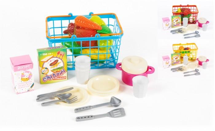Фото - Ролевые игры Orion Toys Набор Корзинка М Пикник (37 предметов) ролевые игры гринпласт набор овощи и фрукты 6 шт