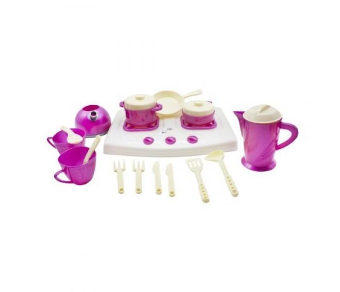 Ролевые игры Orion Toys Плита с набором посуды (18 предметов)