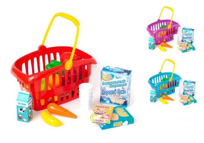 Фото - Ролевые игры Orion Toys Набор Корзинка Супермаркет (28 предметов) ролевые игры нордпласт набор фрукты овощи 13 предметов
