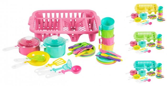 цена на Ролевые игры Orion Toys Набор посуды Iriska 5 (34 предмета)