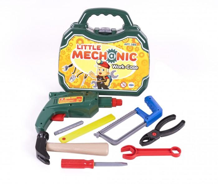 Фото - Ролевые игры Orion Toys Набор инструментов Механик в чемоданчике (8 предметов) набор чистота легко catchmop duo fect 8 предметов