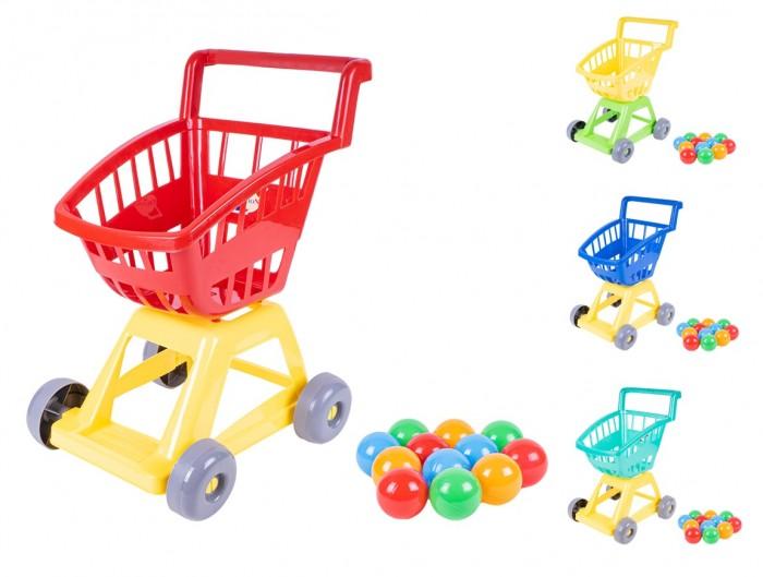 Ролевые игры Orion Toys Тележка с шариками 12 шт. тележка matrix 906605 ящики 10 шт серый