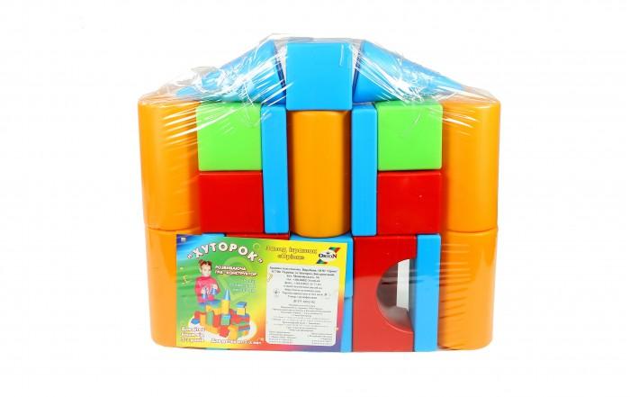Развивающая игрушка Orion Toys Набор строительный Хуторок-М (20 предметов)