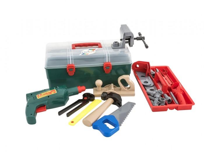 Ролевые игры Orion Toys Набор инструментов Маленький столяр в чемоданчике (33 предмета)