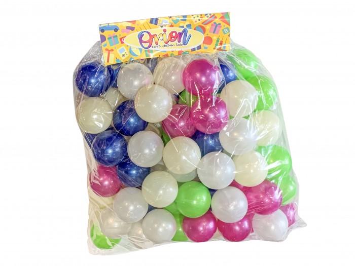 Orion Toys Набор шариков для сухого бассейна перламутровые 7 см 80 шт. от Orion Toys