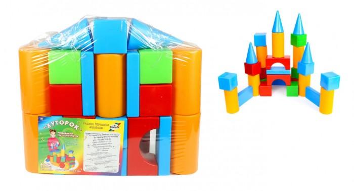 Развивающая игрушка Orion Toys Набор строительный Хуторок (29 предметов)