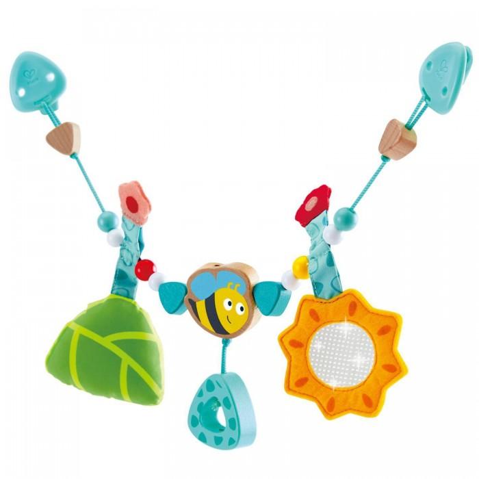 Купить Подвесные игрушки, Подвесная игрушка Hape Цепочка для колясок с шмелем