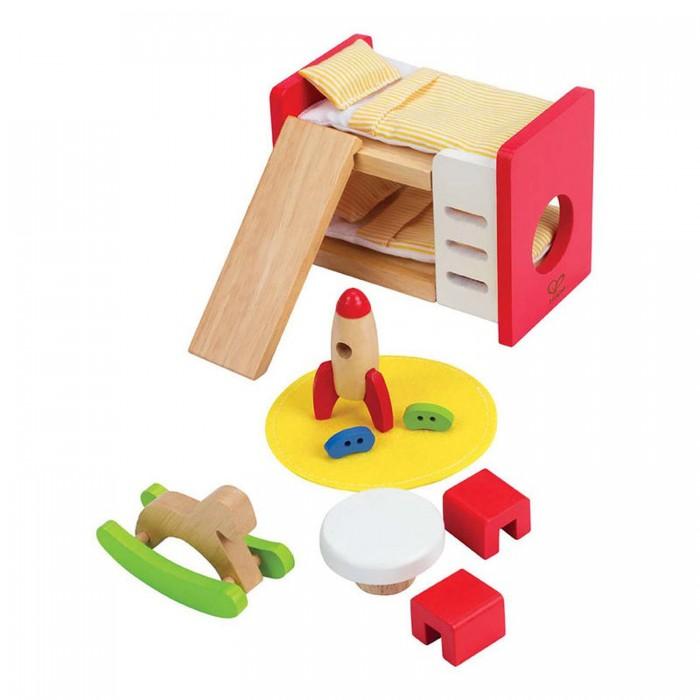 Кукольные домики и мебель Hape Мебель для домика Детская комната кукольные домики и мебель hape мебель для столовой