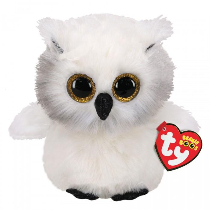Купить Мягкие игрушки, Мягкая игрушка TY Снежная сова 25 см